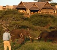 Kenya Exclusive Tours 2019 - 2020 -  Ol Donyo Lodge Exterior