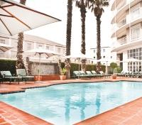 Cape Town & Kruger Safari  Tours 2019 - 2020 -  Commodore Hotel Swimming Pool