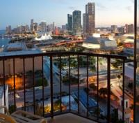Miami Tours 2017 - 2018 - Concierge Level Guest Room Balcony