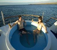 Galapagos Cruise Tours 2017 - 2018 - First Class Yacht Jacuzzi