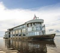 Peruvian Amazon Cruise Tours 2020 - 2021 -  Delfin III Exterior