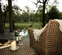 Sabi Sands Tours 2017 - 2018 -  Relaxing by the Plunge Pool