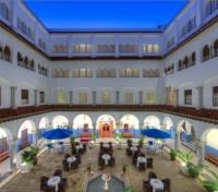 Grand Moroccan Journey Tours 2017 - 2018 -  El Minzah Courtyard