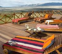 Argentina & Brazil in Style Tours 2017 - 2018 -  Terrace at Eolo Patagonia's Spirit
