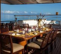 Galapagos Cruise Tours 2017 - 2018 - Dining Area