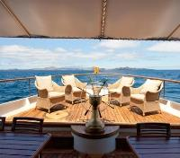 Galapagos Cruise Tours 2017 - 2018 -  M/Y Grace Deck