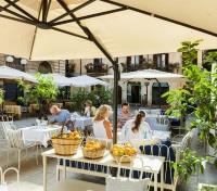 Sicily & Malta Tours 2017 - 2018 -  Outdoor Patio