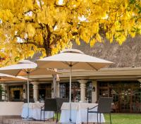 Zimbabwe Explorer  Tours 2019 - 2020 -  Outdoor Restaurant