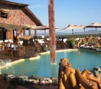Kenya & Tanzania Game Tracker Tours 2017 - 2018 -  Mbalageti Camp - Bar & Pool