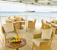 Galapagos Cruise Tours 2017 - 2018 -  Outdoor Lounge