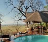 Victoria Falls & Botswana Highlights Tours 2018 - 2019 -  Poolside at Muchenje