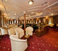 Moscow to St Petersburg Cruise  Tours 2020 - 2021 -  MS Volga Dream Panorama Lounge