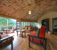 Bwindi Tours 2017 - 2018 - Presidential Suite Lounge, Terrace and Bedroom