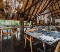 Sabi Sands Tours 2017 - 2018 -  Dining Indoors