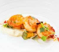 Auckland Tours 2017 - 2018 - FISH Restaurant: Pan-Seared Scallops