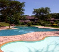 Kenya & Tanzania Game Tracker Tours 2017 - 2018 -  Simba Lodge Pool