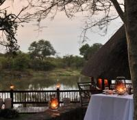 Thornybush Private Game Reserve Tours 2017 - 2018 - Riverside Dining