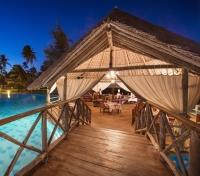 Zanzibar Tours 2017 - 2018 -  Dining on the deck