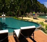 Palawan Tours 2017 - 2018 -  Apulit Island Resort Pool