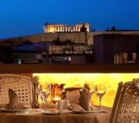Athens Tours 2017 - 2018 -  Athenian Callirhoe Hotel Roof Garden