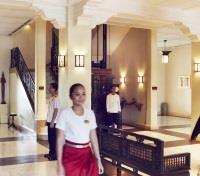 Highlights of Saigon, the Mekong, & Angkor Wat Tours 2020 - 2021 -  Raffles Grand Hotel d'Angkor Lobby
