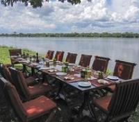 Murchison Falls Tours 2019 - 2020 -  Baker's Lodge Outdoor Dining