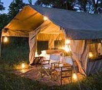 Chobe Under Canvas Tents