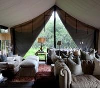 Moremi Game Reserve Tours 2017 - 2018 -  Lounge Area