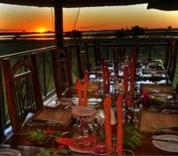 Caprivi Strip Tours 2017 - 2018 - Chobe Savanna Lodge Dining
