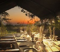 Moremi Game Reserve Tours 2017 - 2018 -  dining