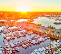 Western Australia In-Depth Tours 2020 - 2021 -  Aerial View - Fishing Boat Harbour