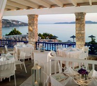 Mykonos Tours 2017 - 2018 -  Mykonos Grand Hotel & Resort - Dining