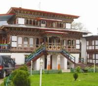 Bhutan Grand Journey Tours 2017 - 2018 -  Jakar Village Exterior