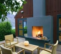 Queenstown Tours 2017 - 2018 - Outdoor Fireplace