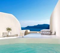 Athens and Greek Islands Exclusive Tours 2017 - 2018 -  Canaves Oia Suites Plunge Pool