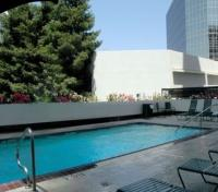 Los Angeles Tours 2017 - 2018 - Outdoor pool