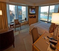 Vancouver Tours 2017 - 2018 -  Pan Pacific Vancouver Hotel Room