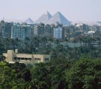 Treasures of the Egyptian Nile Tours 2018 - 2019 -  Pyramid View from Hotel
