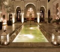 Southern Spain and Morocco Highlights Tours 2018 - 2019 -  Riad Fes Lobby