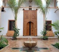 Grand Moroccan Journey Tours 2017 - 2018 -  Riad Kalaa Entrance