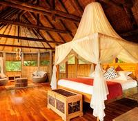 South Luangwa National Park Tours 2017 - 2018 - Stylish Bedroom in the Chalet
