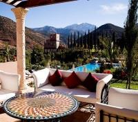Morocco Exclusive Tours 2019 - 2020 -  Kasbah Tamadot - Terrace