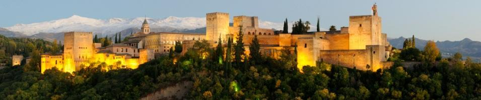 Lisbon & Southern Spain Discovery Honeymoon Tours 2017 - 2018 -  Alhambra