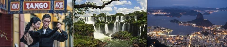 Argentina & Brazil Signature: Cities & Falls Tours 2019 - 2020 -  Argentina and Brazil