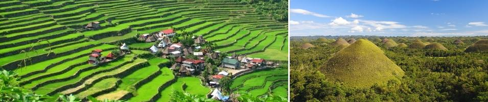 Philippines Signature: Rice Terraces & Chocolate Hills Tours 2017 - 2018 -  Philippines