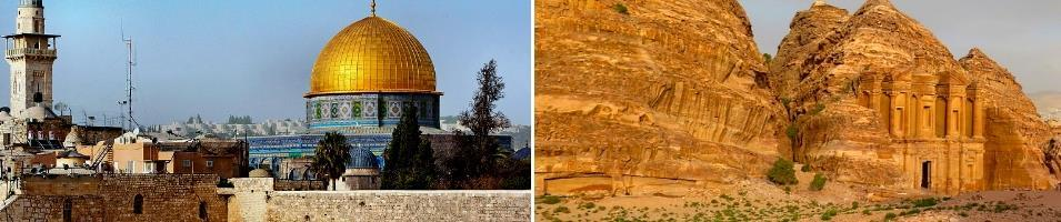 Israel & Jordan Highlights Tours 2019 - 2020 -  Isreal & Jordan