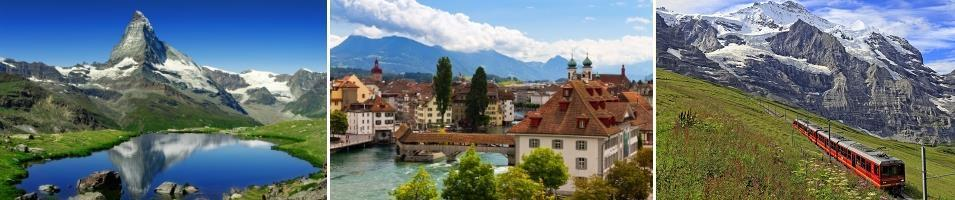 Switzerland Highlights Tours 2017 - 2018 -  Switzerland