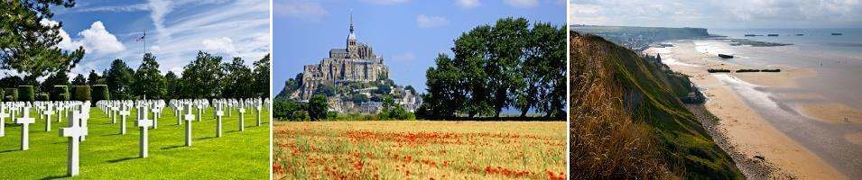 Paris and the Historic WWII Sites of Normandy Tours 2017 - 2018 -  Normandy