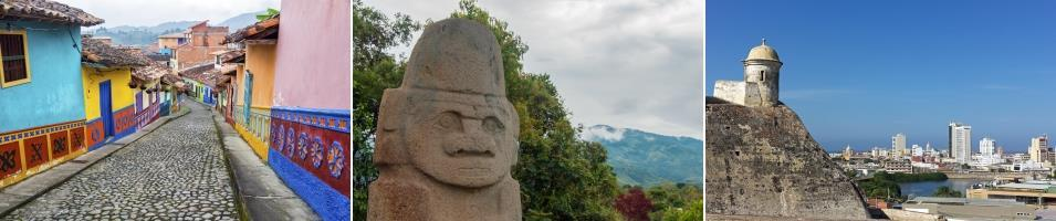 Colombia - Archaeology & Colonial History Tours 2020 - 2021 -  Archaeology & Colonial History