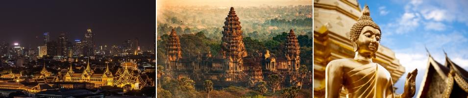 Thailand & Cambodia Highlights Tours 2020 - 2021 -  Thailand & Cambodia Highlights